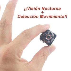 Mini Camara Espia Hd 8gb Micro Video Seguridad Vigilancia