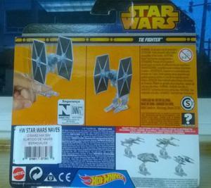 Nave Hot Wheels TIE Fighter (Star wars) nueva