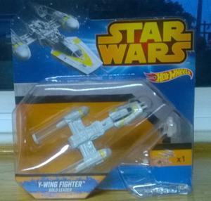 Nave Hot Wheels Y Wing Fighter (Star Wars)nueva