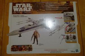 Nave X Wing de la resistencia (Star Wars)