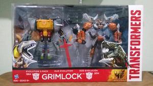 Paquete Dúo Grimlock de Transformers Age of Extinction
