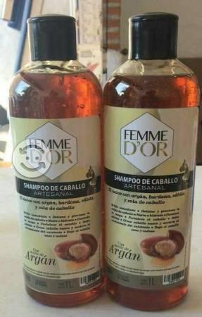 Shampoo Femme D'or con Argan