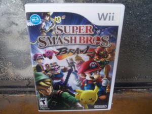 Super Smash Bros Brawl Para Nintendo Wii Completo Caja