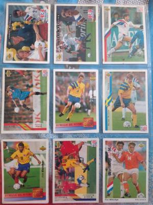 Tarjetas de Colección Futbol