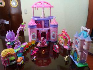set de 5 cosas de my little pony