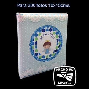 Album Fotográfico De Bautizo Niño P/ 200 Fotos 10x15