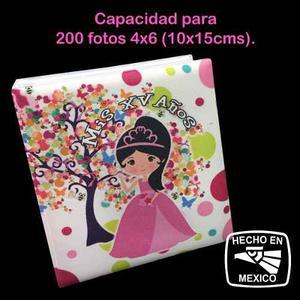 Album Fotográfico De Quinceañera Xv Años P/ 200 Fotos