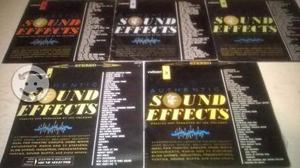 Auténticos SOUND EFFECTS Colección de 5 LP Acetato