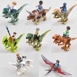 Dinosaurios Jurassic World Compatibles Con Lego 16 Piezas