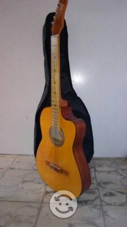 Guitarra Acustica Como Nueva