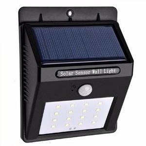 Lampara Solar De 16 Super Leds Con Sensor Envío Gratis