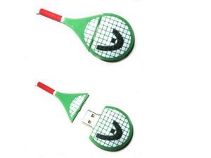 Memoria Usb 2.0 De 16 Gb Con Forma De Raqueta De Tenis