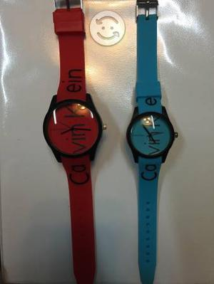 Relojes hombre y mujer colors