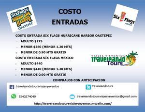 SIX FLAGS COSTO DE ENTRADA