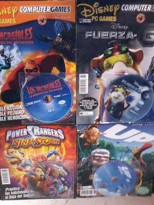 4 Juegos De Pc Originales Con Revista Y Envio Incluido