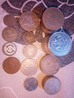 60 monedas antiguas