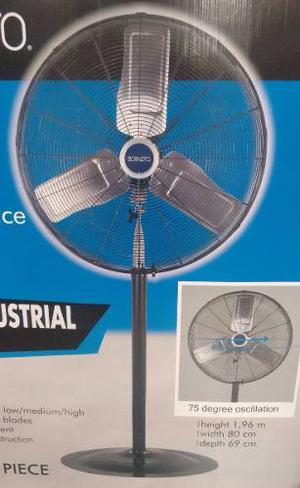 Abanico Ventilador De Pedestal Industrial 30 Envio Gratis!