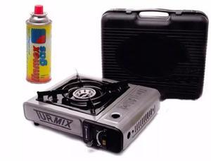 Estufa Portatil Practico Incluye Cartucho Gas Butano Turmix