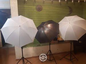 Kit profesional de flash para fotografía