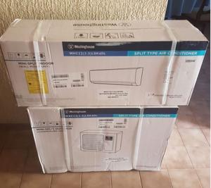 Minisplits Westinghouse Inverter 1, 1.5 y 2 tons Solo Frio