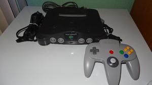 Nintendo 64 Completo + 2 Juegos Star Fox Y Star Wars Retro