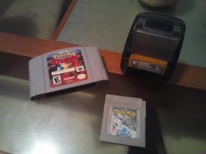 Paquete Pokemon Stadium, Pokemon Silver Y Transfer Pack