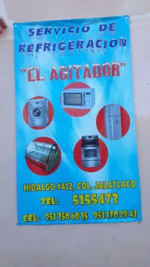 Servicio de refrigerador (EL AGITADOR)