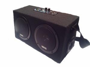 Amplificador Portátil En Cajón Con Lector De Memorias Usb
