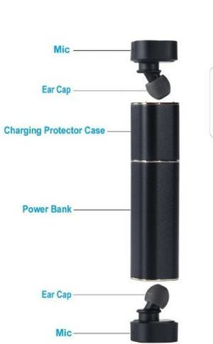 Audifonos Bluetooth Wireless Eardbuds Recargables Dhl Gratis