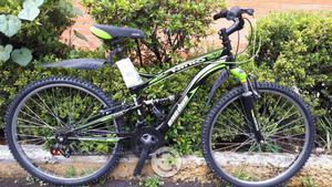 Bicicleta nitro nueva r26 doble suspencion