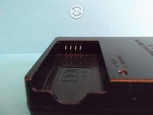 Cargador de baterias nikon con dos baterias