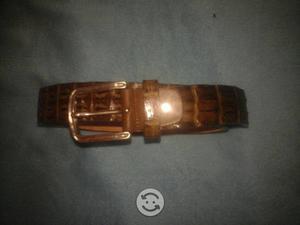 Cinturón de piel de cocodrilo hanson
