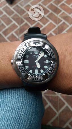 Citizen eco drive de buzo 300m