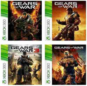 En Pack: Gears Of War+gears Of War 2+gears Of War 3+judgment