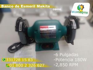 Esmeril de Banco Makita GB600