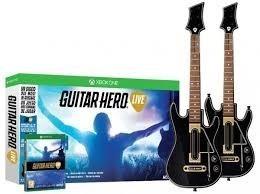 Guitar Hero Live Bundle Xbox One 2 Guitarras Y Juego Nuevo