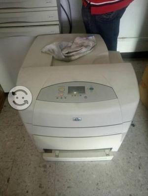 Impresora hp  a colores carta y doble carta