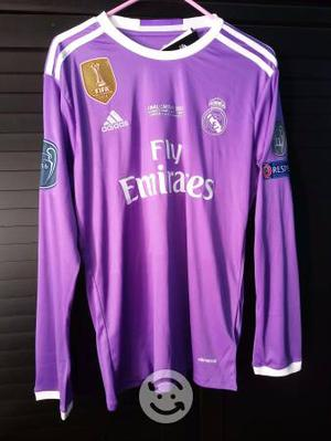 Jersey Real Madrid Manga Larga