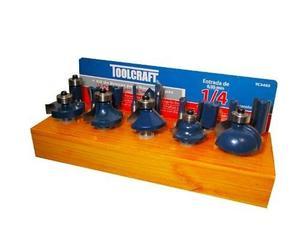 Kit Brocas Fresas Router 15 Pzs Toolcraft Envío Gratis