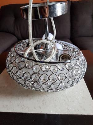 lampara de techo de cristal cortado austriaco | posot class