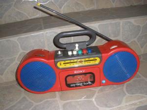 Radio Grabadora De Cassette Vintage Sony