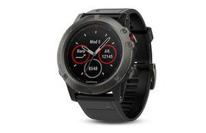 Reloj Garmin Fenix 5x Sapphire Smartwatch Banda Negra