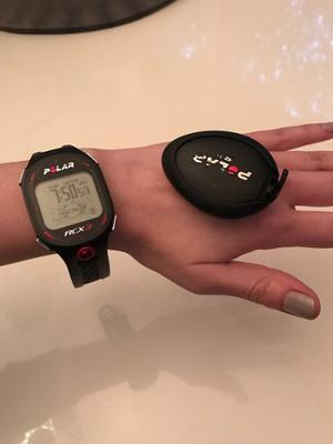 Reloj Polar Rcx3 Con Sensor S3
