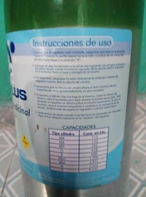 TANQUE DE OXÍGENO 415 LTS