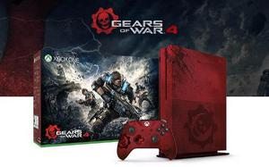 Xbox One S 2tb Gears Of War 4 Edicion Limitada Nueva Sellada