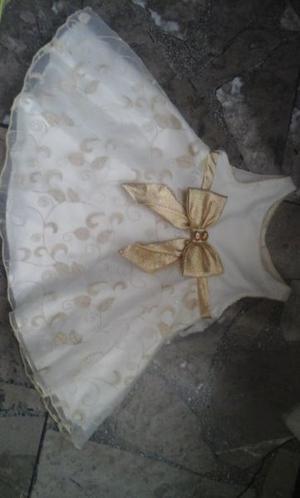 6 Vestidos para niña Talla 12 y 18 Meses