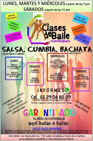 CLASES DE BAILE DISTRITO FEDERAL