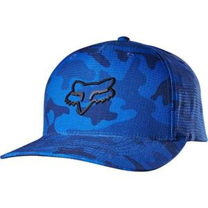 Gorra Fox Hatches Azul Flexfit L/xl Motocross Downhill Mtb