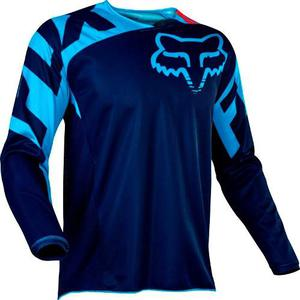 Jersey Fox 180 Race Azul Talla Xl Motocross Mtb Downhill