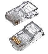 Plug Conector Rj45 Para Cable Red Utp Cat 5e Pieza